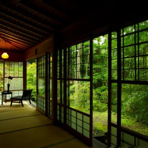 Garden, Tatami, Window