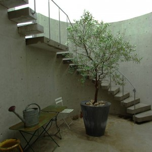Entrance, Stairs