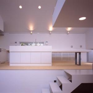 Kitchen, Stairs