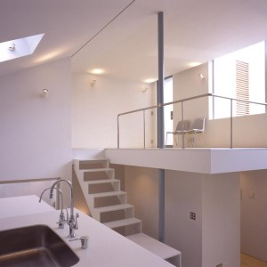 Kitchen, Loft, Stairs, Window