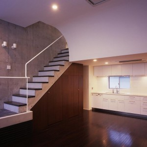 Kitchen, Living, Stairs