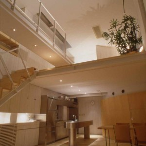 Dining, Loft, Stairs