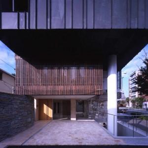 Entrance, Facade