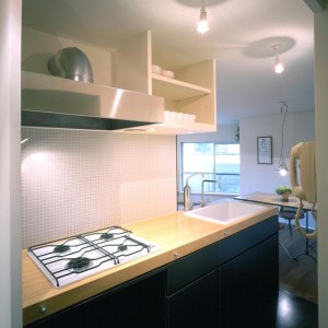 Living, Kitchen