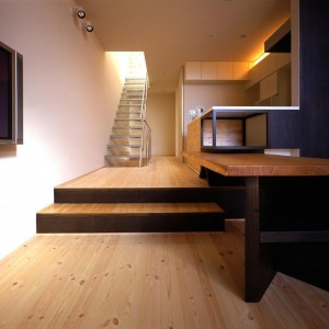Living, Stairs