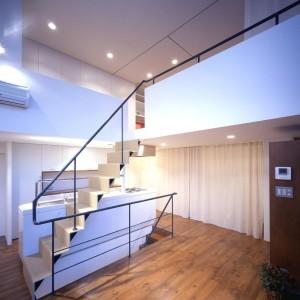 Kitchen, Loft, Stairs