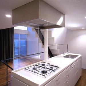Kitchen, Window, Stairs