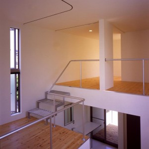 Stairs, Loft, Terrace, Window